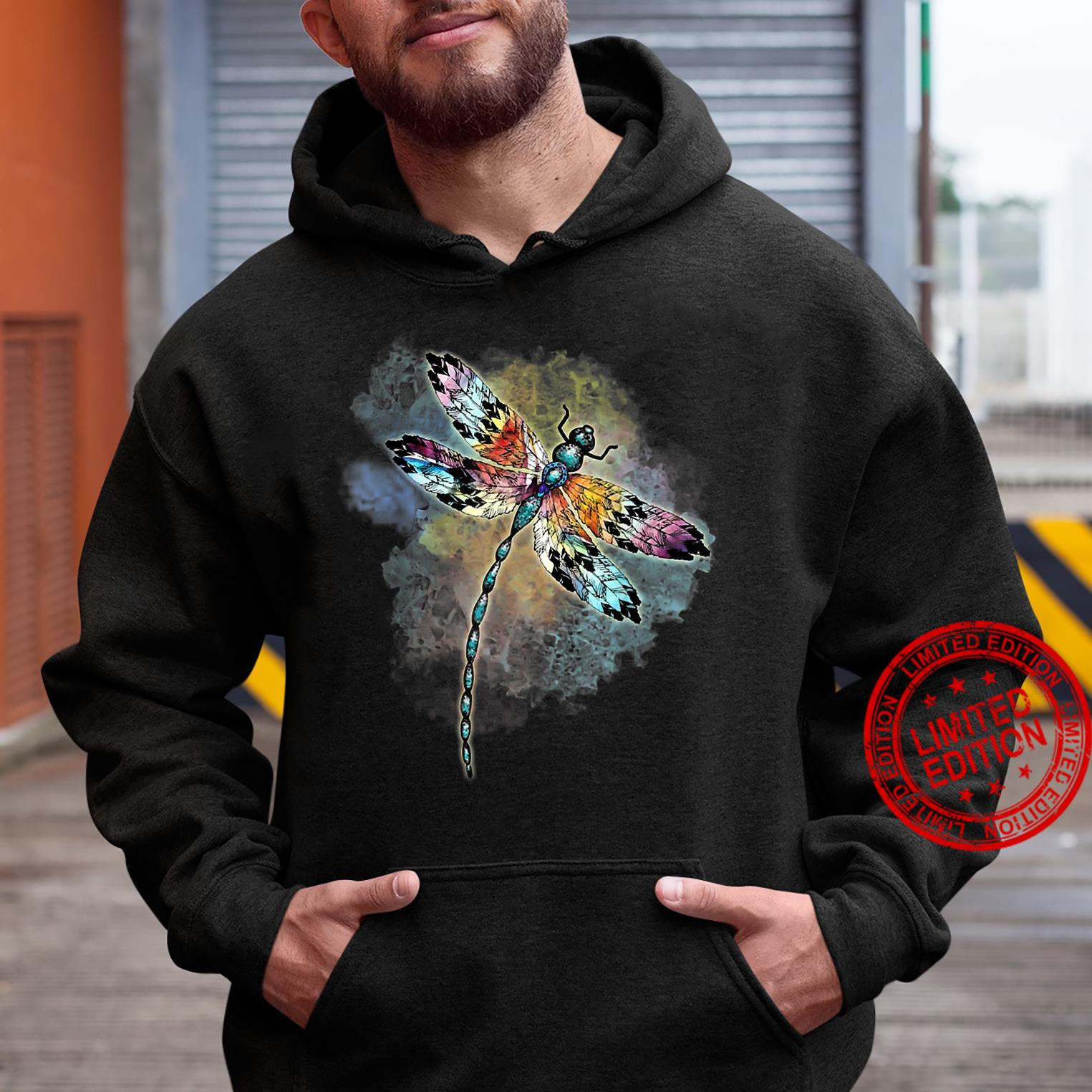 Dragonfly Colorful The Change Inside Of Me Shirt hoodie