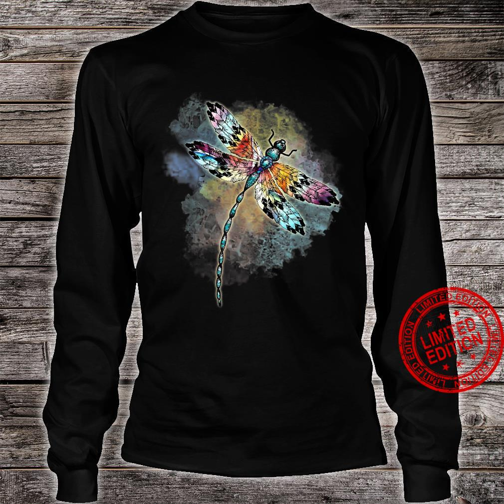 Dragonfly Colorful The Change Inside Of Me Shirt long sleeved