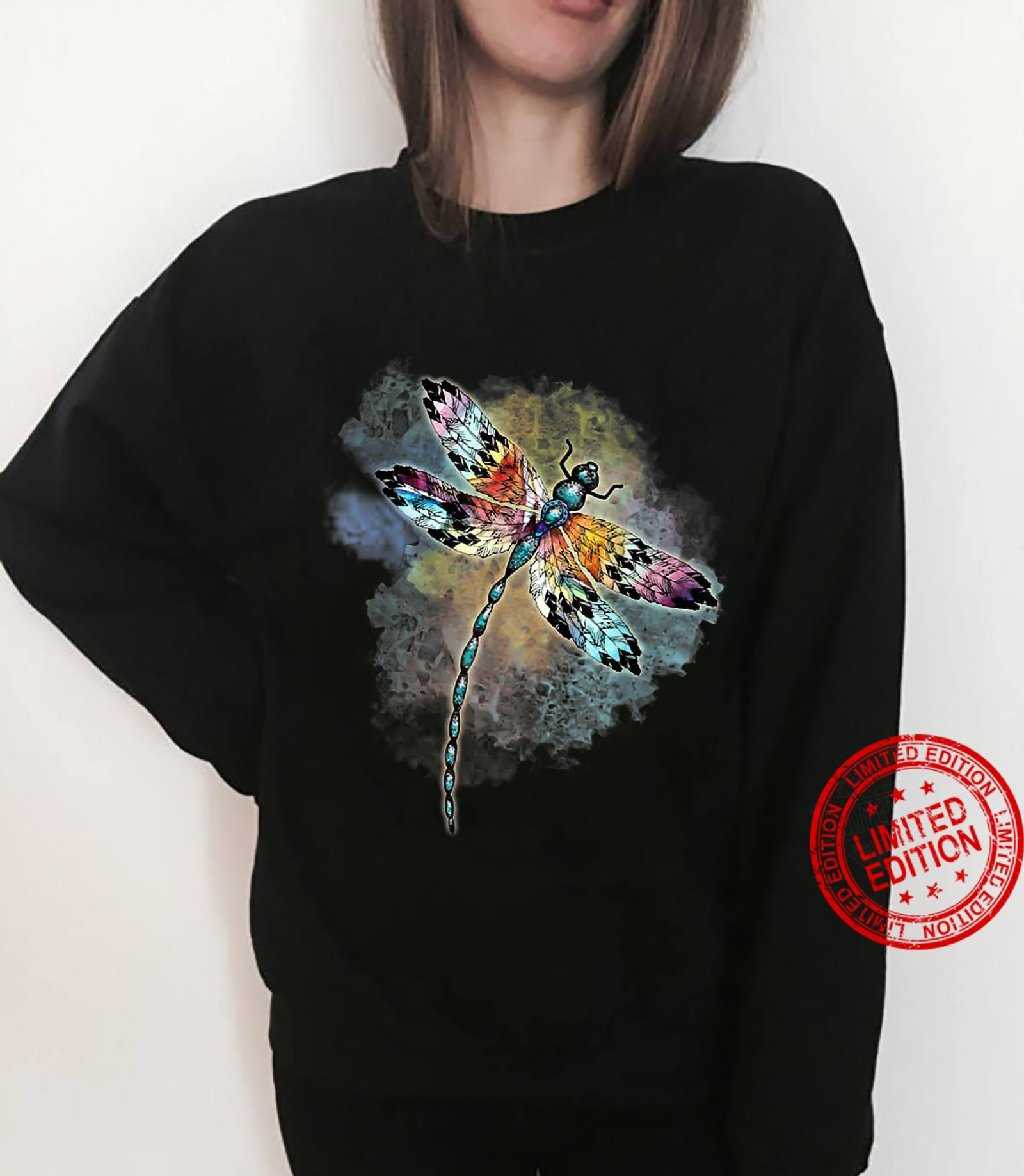 Dragonfly Colorful The Change Inside Of Me Shirt sweater