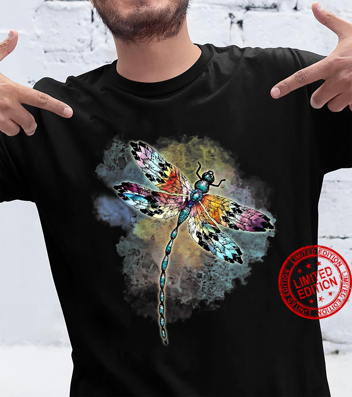 Dragonfly Colorful The Change Inside Of Me Shirt
