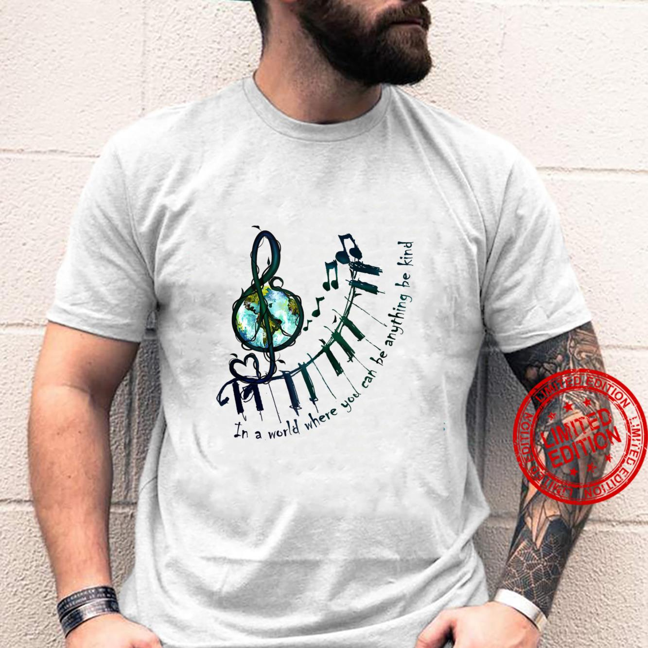 In A World Where You Can Be Anything Be Kind Flower Children Shirt (3)