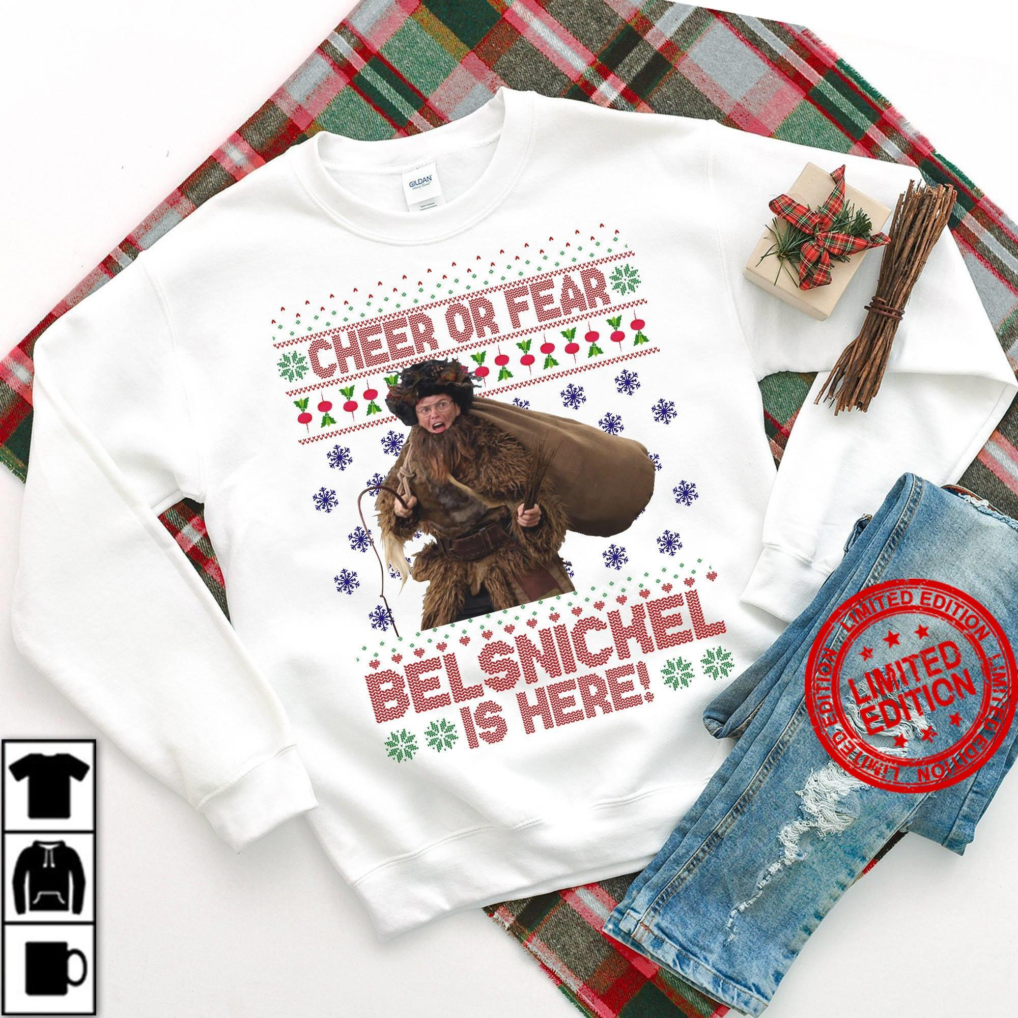 Cheer Or Fear Belsnickel Is Here Shirt