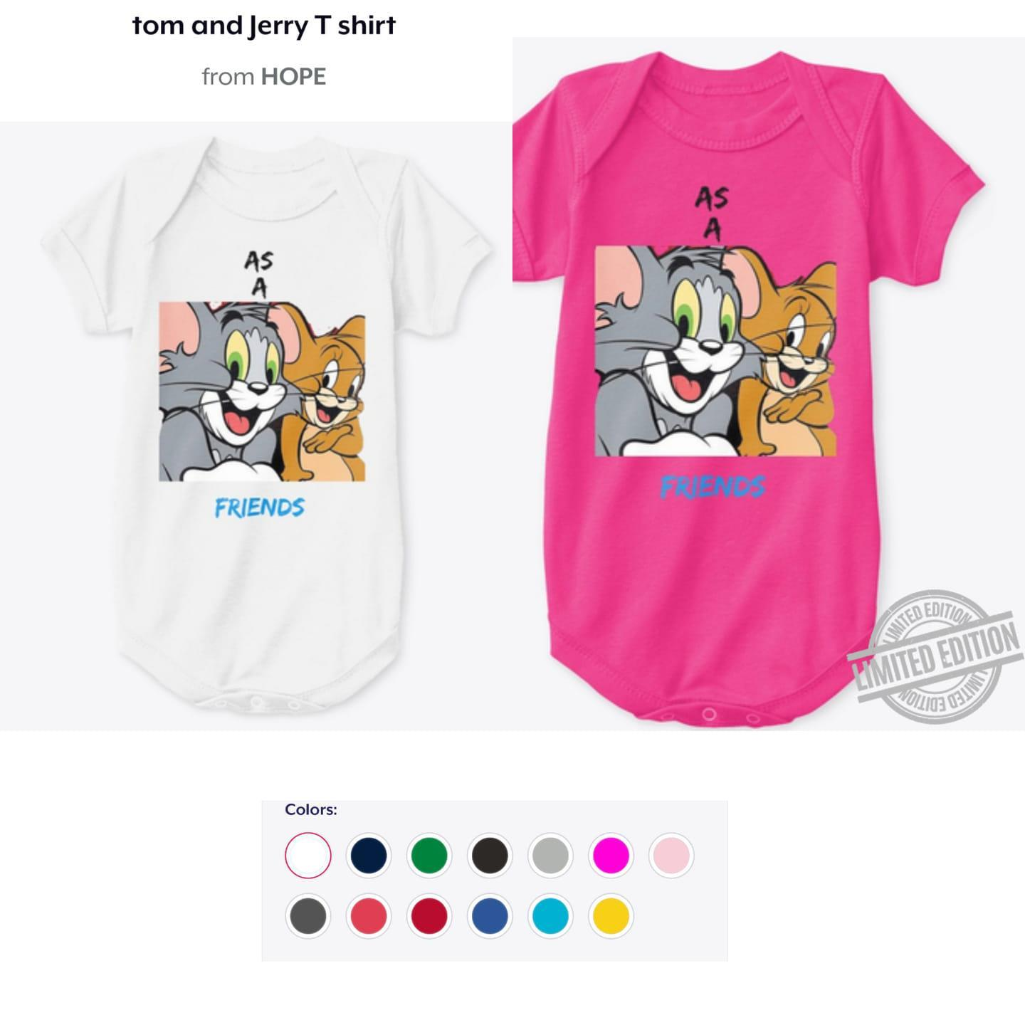 Tom And Jerry Friend Shirt